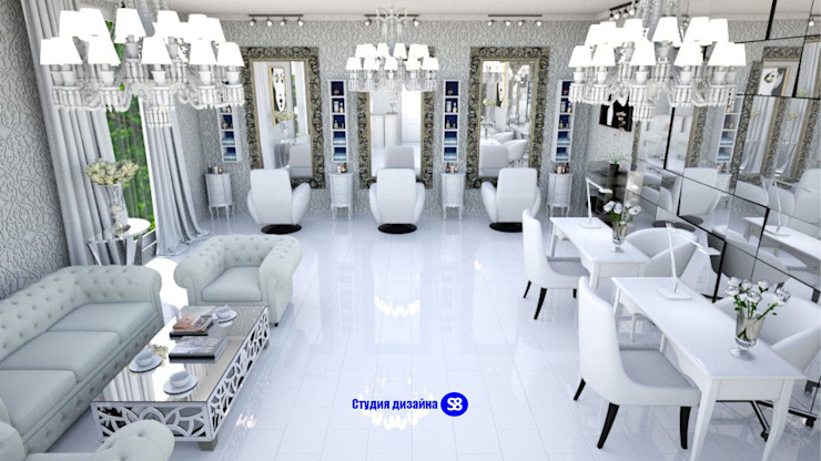 Beauty salon by 'Design studio S-8' Classic