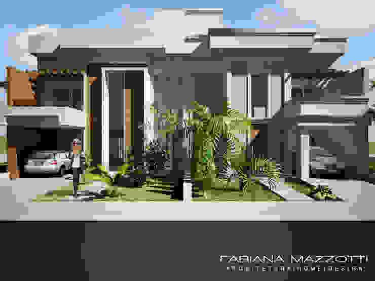 Casas modernas de Fabiana Mazzotti Arquitetura e Interiores Moderno