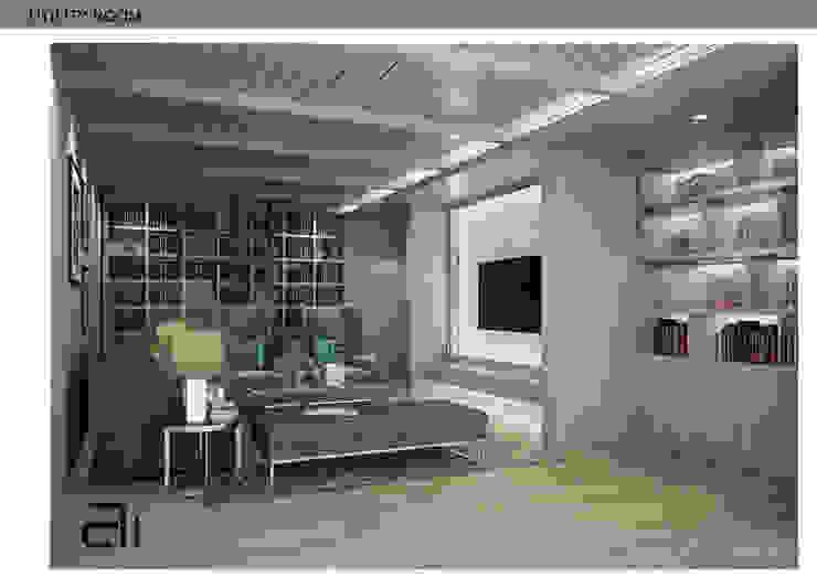 INTERIOR DESIGN THE RESIDENCE 3: โคโลเนียล  โดย Glam interior- architect co.,ltd, โคโลเนียล กระจกและแก้ว