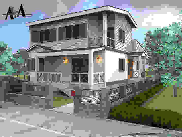 Moderne Häuser von alfa mimarlık Modern