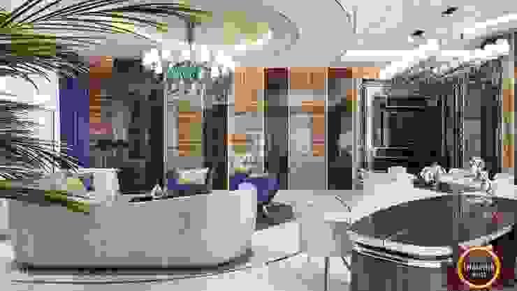 مكتب عمل أو دراسة تنفيذ Luxury Antonovich Design, حداثي