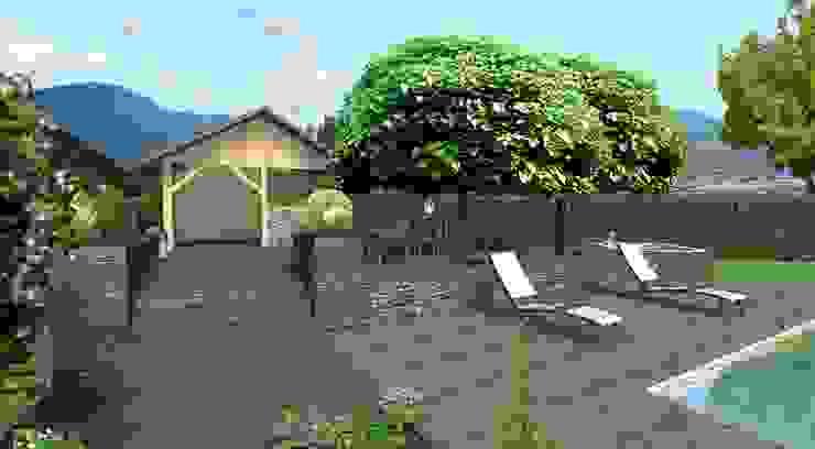 Modern Terrace by Anthemis Bureau d'Etude Paysage Modern