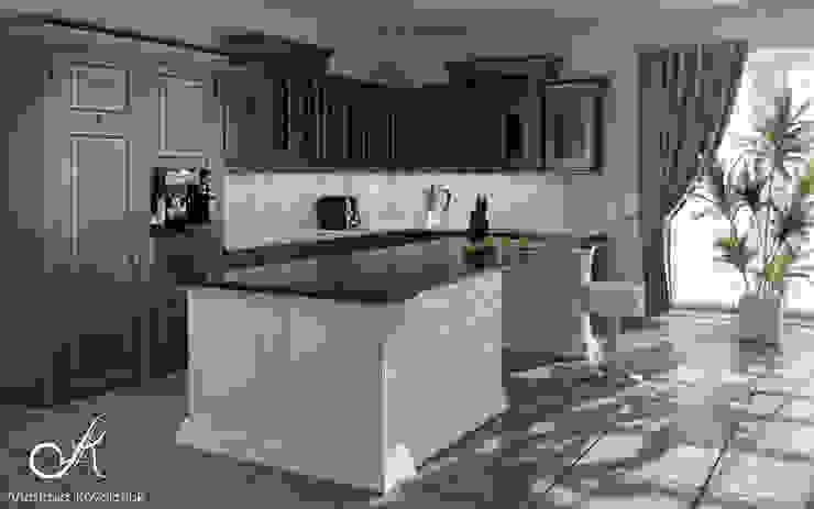 Phòng ăn phong cách kinh điển bởi Design studio by Anastasia Kovalchuk Kinh điển