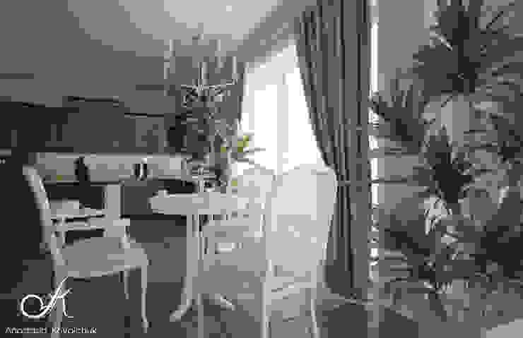 غرفة السفرة تنفيذ Design studio by Anastasia Kovalchuk, كلاسيكي