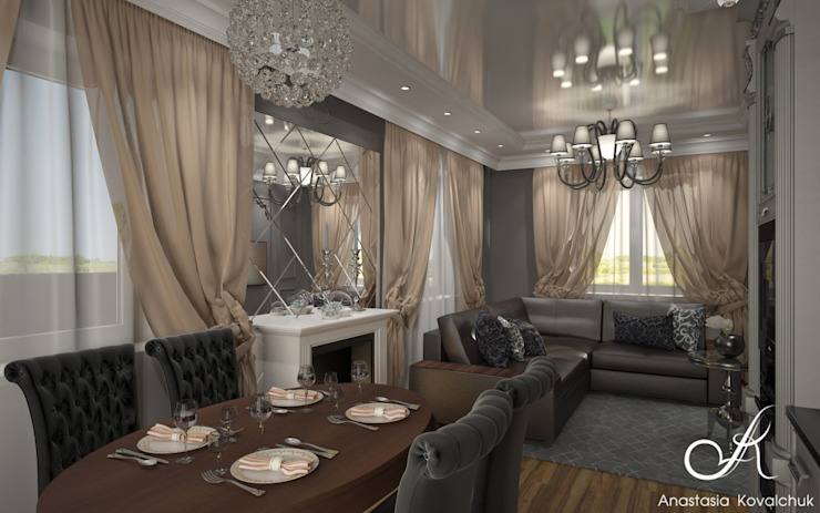 من Design studio by Anastasia Kovalchuk كلاسيكي