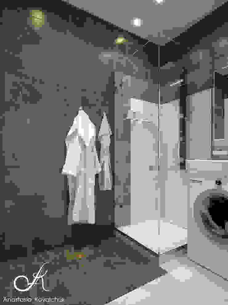Moderne Badezimmer von Design studio by Anastasia Kovalchuk Modern