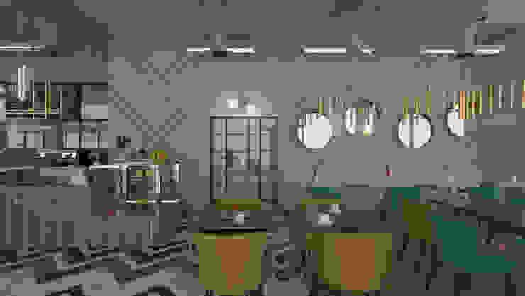 Eclectic coffee shop by emc|partners Eclectic Aluminium/Zinc
