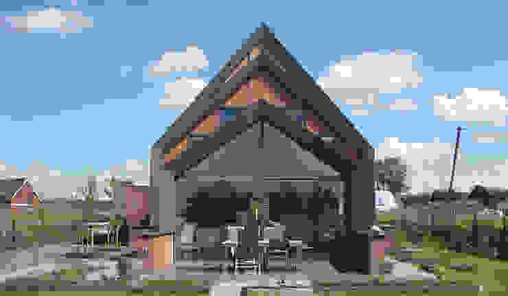 Woning Park Noord, Leidsche Rijn:  Huizen door Architectenbureau van den Hoeven b.v., Modern