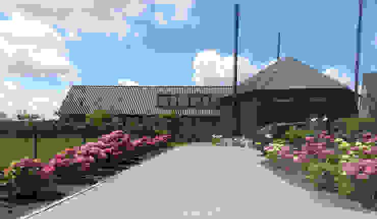 Woning Harmelen:  Huizen door Architectenbureau van den Hoeven b.v., Landelijk