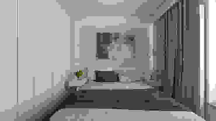 Luxury interiors Classic style bedroom by emc|partners Classic Bricks
