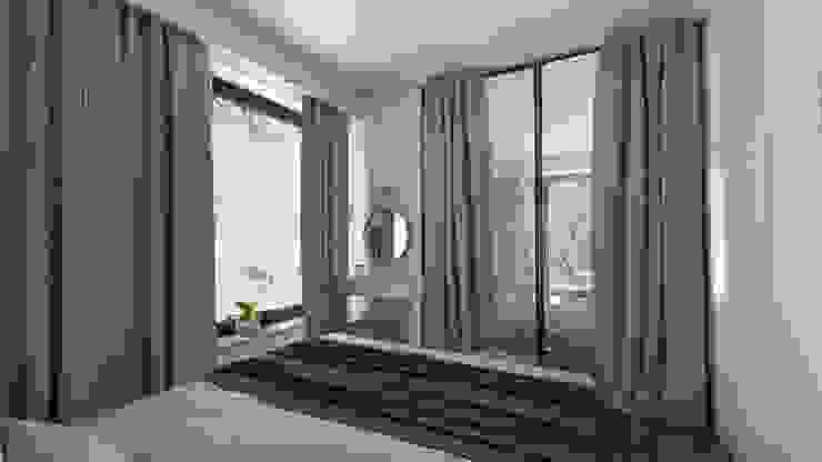 Luxury interiors Classic style bedroom by emc|partners Classic Iron/Steel