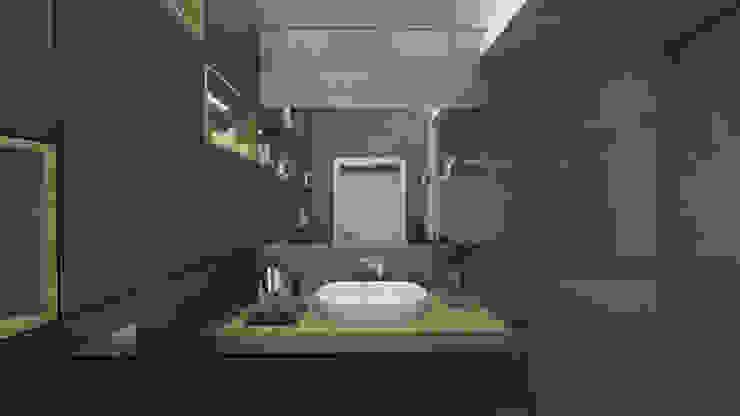Luxury interiors Classic style bathroom by emc|partners Classic MDF