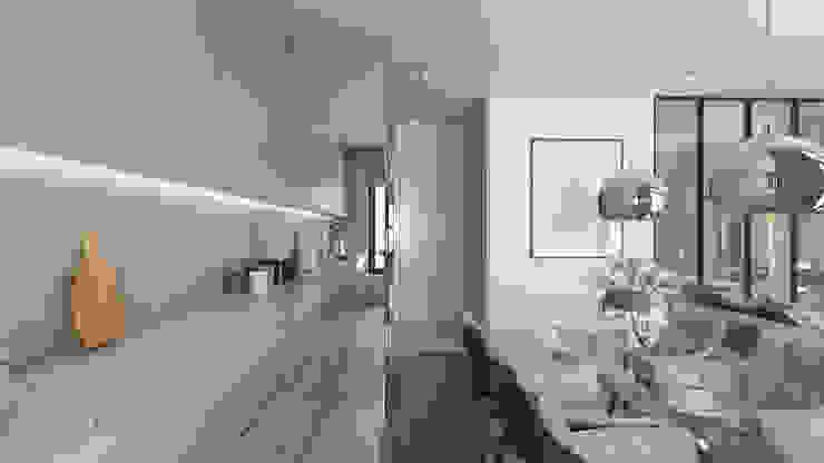 Luxury interiors by emc|partners Classic Iron/Steel