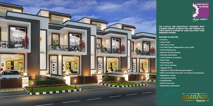 AnanDam Resorts Classic style houses by Kansal Constructing Smart Cities Classic Concrete