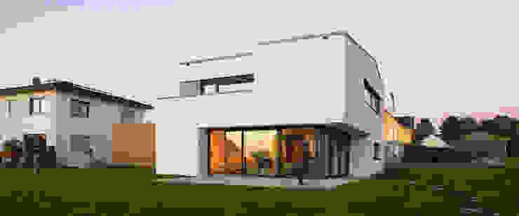 Panoramaansicht Moderne Häuser von Fichtner Gruber Architekten Modern