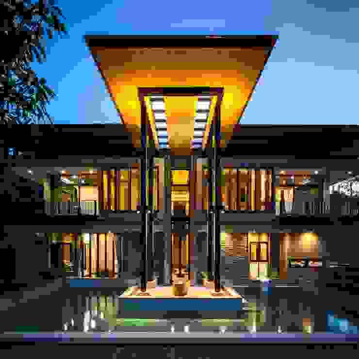 BAAN KHAO YAI โดย LAMOONTA ARCHITECTS,.CO.LTD