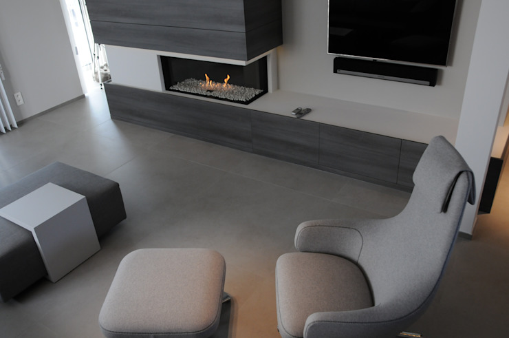 Modern Living Room by IDEE-M INTERIEURARCHITECTEN Modern