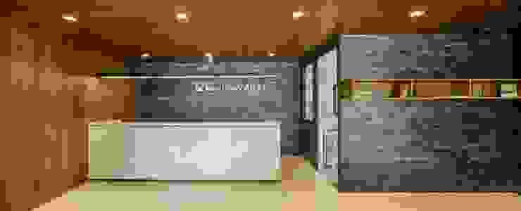 Reception area โดย Overtimearchitect