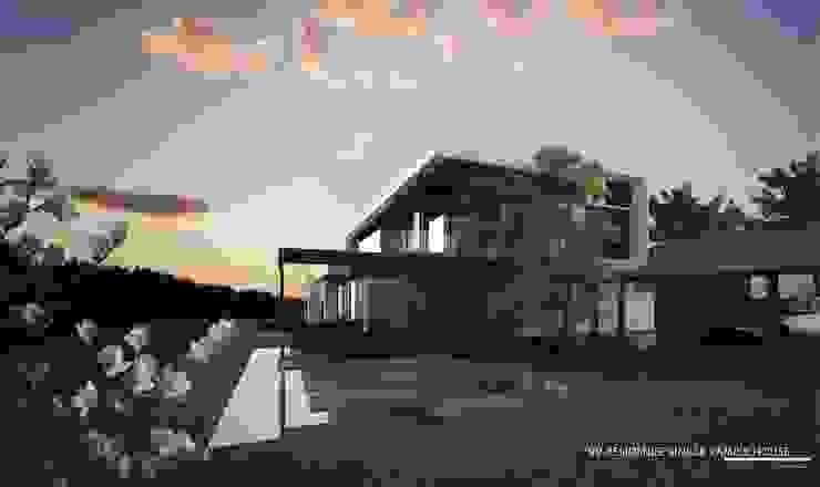 New family house design in progress @ Chiangmai - Doisaket โดย THESKULSTUDIO