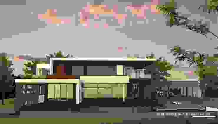 New family house design in progress @ Chiangmai – Doisaket โดย THESKULSTUDIO