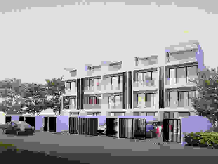 Town Home แบรริ่ง 13 โดย No.13 Design โมเดิร์น