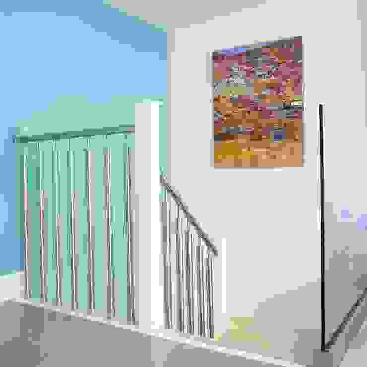 London duplex interior staircase Modern Corridor, Hallway and Staircase by ESTHERRICO Design & Businness Modern