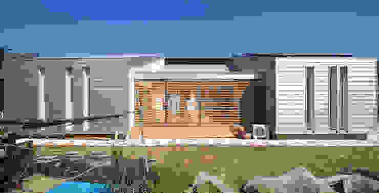 Modern home by Ju Design 建築設計室 Modern Metal