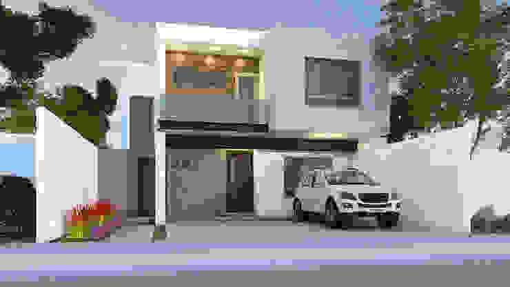 Modern Houses by GA-Arquitecto Modern