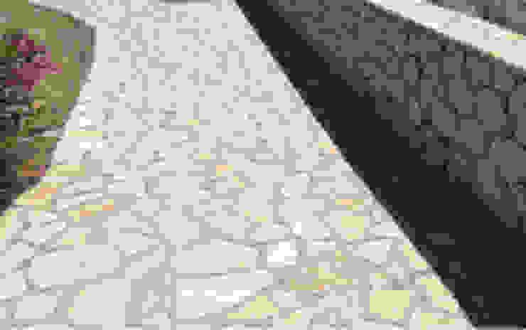 Posa pavimento esterno in porfido a Roma GM Tecnoedil Giardino classico