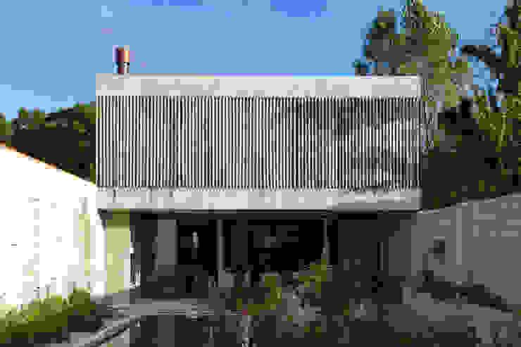 Maisons modernes par BAM! arquitectura Moderne Béton