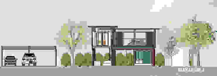 บ้านตู้คอนเทนเนอร์ โดย No.13 Design โมเดิร์น