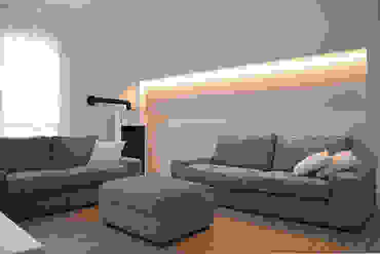 Minimalistische woonkamers van Giacomo Accordi Minimalistisch