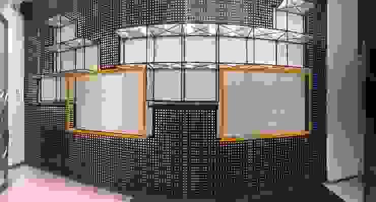 vista general del nuevo muro de exposición. Estudio ZP