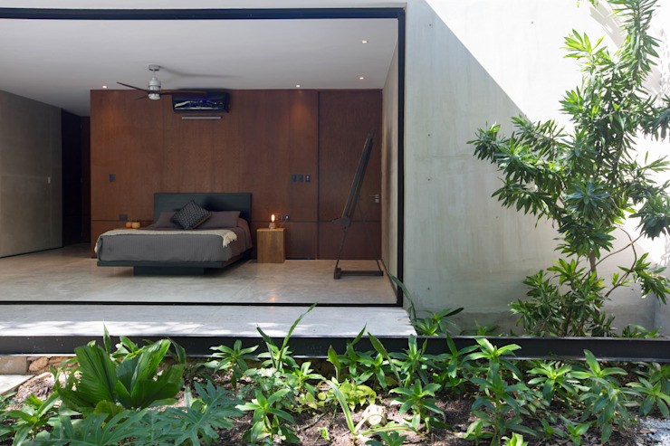 PM Modern Bedroom by FGO Arquitectura Modern Concrete