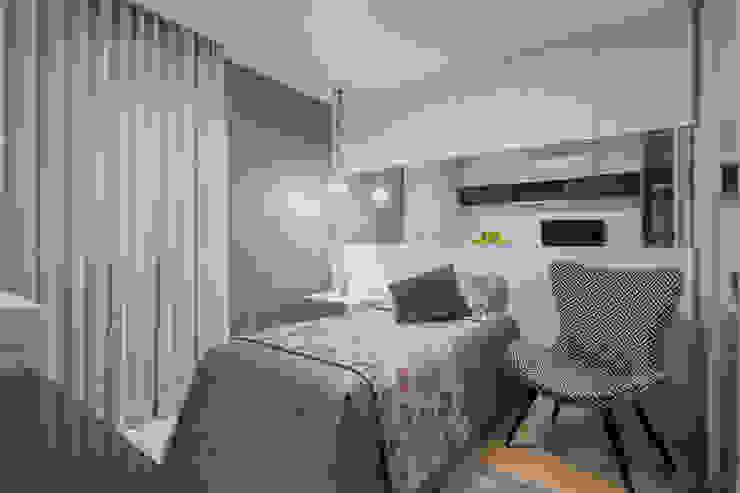 JANAINA NAVES - Design & Arquitetura BedroomAccessories & decoration MDF Purple/Violet