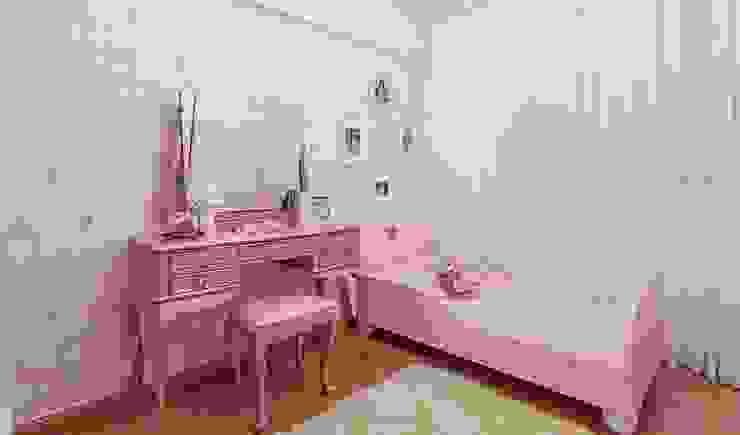 JANAINA NAVES - Design & Arquitetura Eclectic style nursery/kids room MDF Pink