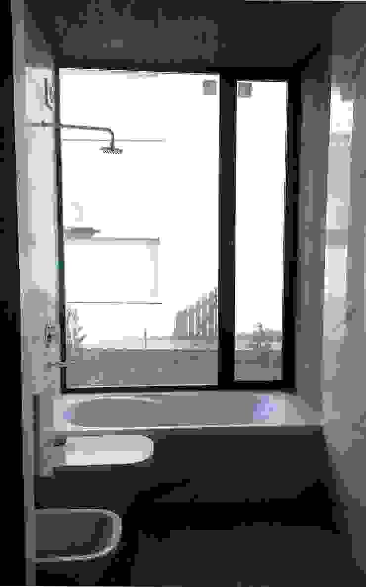 Baño Baños minimalistas de Estudio Morphe Minimalista