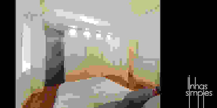 Quarto principal (suite) / Master bedroom (suite) homify Quartos modernos