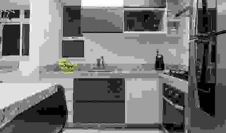 Ausgefallene Küchen von JANAINA NAVES - Design & Arquitetura Ausgefallen