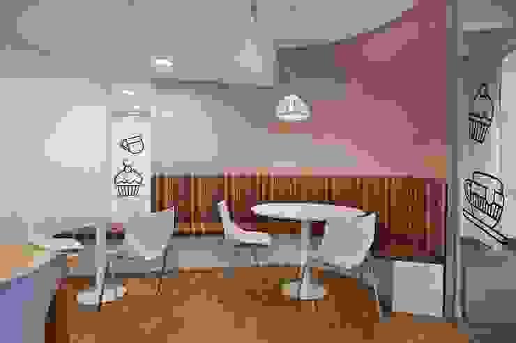 Cafetería Oficinas y comercios de estilo moderno de Estudio Morphe Moderno