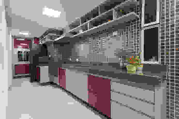 JANAINA NAVES - Design & Arquitetura Dapur Gaya Eklektik