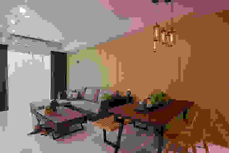 Tường & sàn phong cách hiện đại bởi 趙玲室內設計 Hiện đại