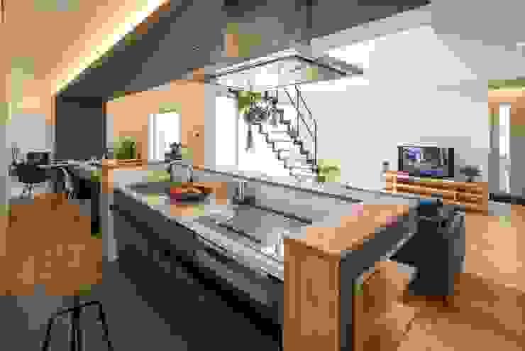 Modern Kitchen by LITTLE NEST WORKS Modern