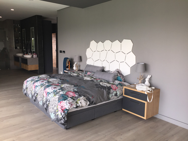 House Verster - Johannesburg Modern style bedroom by Graftink Interior and Architectural Design Studio Modern