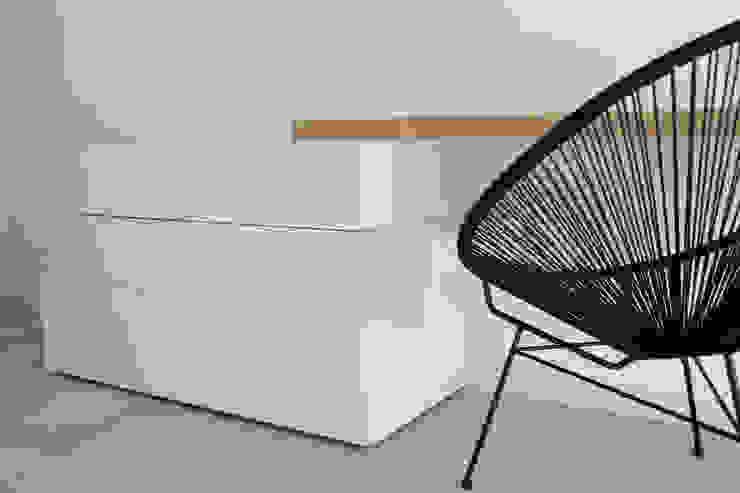 Polihouse Camera da letto minimalista di Luca Bucciantini Architettura d' interni Minimalista Legno Effetto legno
