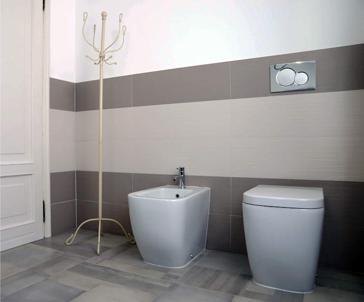 Polihouse Bagno minimalista di Luca Bucciantini Architettura d' interni Minimalista