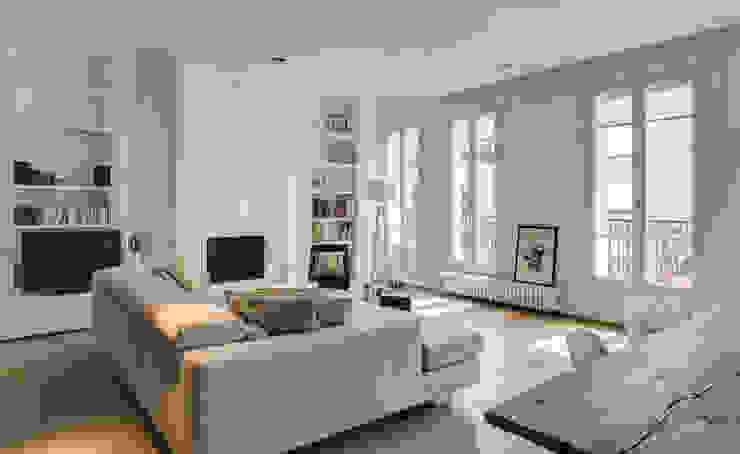 Scandinavische woonkamers van Mon Concept Habitation Scandinavisch