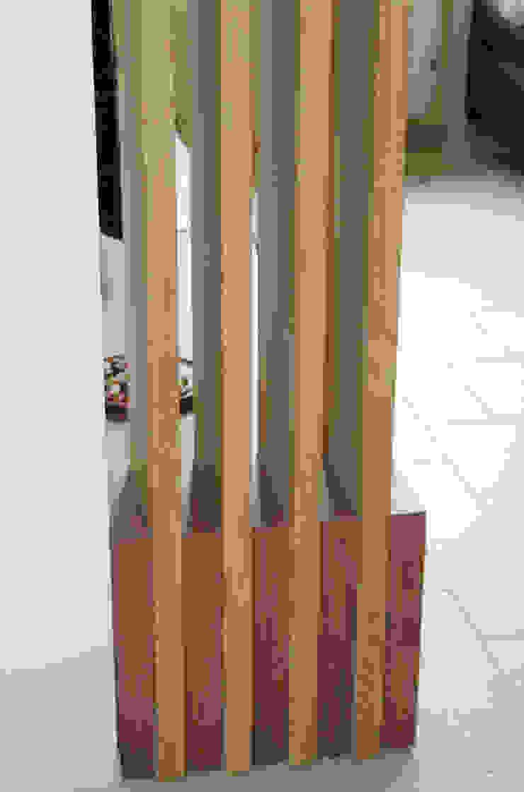 Détail du claustra par Kauri Architecture