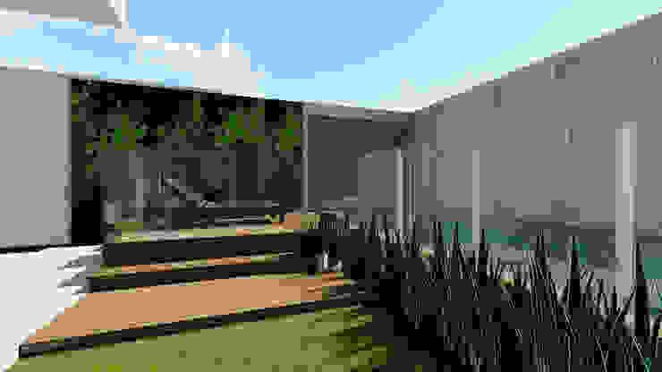 Casas modernas de Studio KT arquitetura.design Moderno Concreto