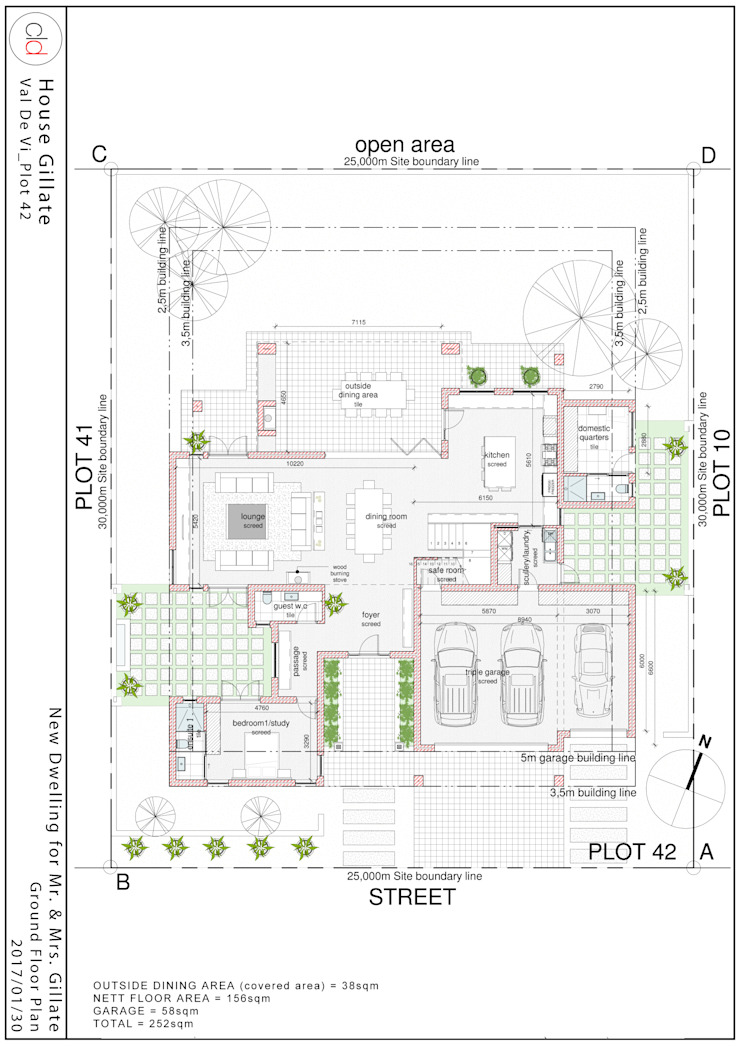 Ground Floor Plan by cld architects